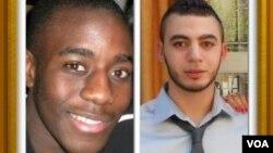 Kevin, un étudiant de 21 ans, et Sofiane, un éducateur de 22 ans, les deux jeunes lynchés à Grenoble en 2012.