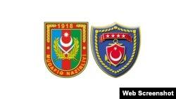 Azərbaycan və Türkiyənin hərbi emblemləri