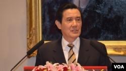 台灣總統馬英九。(資料圖片)
