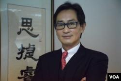 耀才證券國際(香港)有限公司亞太區首席分析師郭思治。(美國之音湯惠芸)