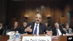 Ministar pravosuđa Eric Holder svjedoči na Capitol Hillu