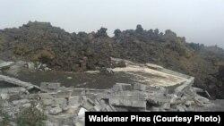 Lavas do Vulcão do Pico(Foto Waldemar Pires)
