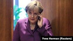 Mendagri Jerman mengatakan penyadapan AS terhadap ponsel Kanselir Jerman, Angela Merkel merupakan pelanggaran kedaulatan (foto; dok).