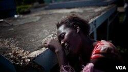 Hasta antes de octubre de 2010, el país no había registrado casos de cólera durante décadas.