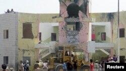 انفجار خودروی بمبگذاری شده در اردوگاه آموزش نظامی در عدن، یمن