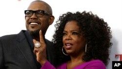 Forrest Whitaker và Oprah Winfrey, hai diễn viên chính trong 'The Butler.'