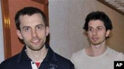 ایران میں گرفتار امریکیوں پہ مقدمہ چلانے کا اعلان