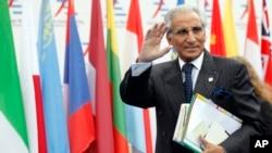 Asisten Khusus Masalah Luar Negeri untuk PM Pakistan, Syed Tariq Fatemi, menghadiri Pertemuan ke-10 Negara-negara Asia dan Eropa (ASEM) di Milan, Italia, 16 Oktober 2014. (Foto: dok).