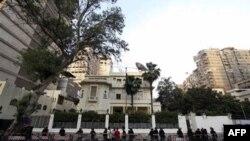 Египетские силы безопасности охраняют посольство Саудовской Аравии в Каире
