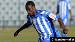 Dynamos player Denver Mukamba