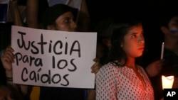 Nicaragua Protests. (April 24, 2018.)