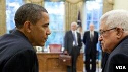 Surat Presiden Obama mendesak Presiden Mahmud Abbas untuk memulai pembicaraan langsung dengan Israel.