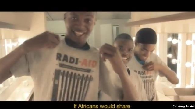 Photo extraite du clip-vidéo Radi-Aid: Africa for Norway