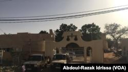 La Cour de justice à Niamey, Niger, le 13 mars 2017. (VOA/Abdoul-Razak Idrissa)