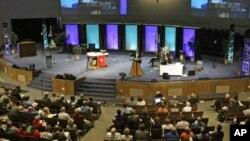 Suasana misa di Gereja Evangelical Lutheran di Amerika. (Foto: Dok)
