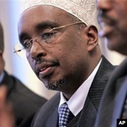 Somali Parliamentary Speaker Sharif Hassan Sheik Aden (File)