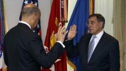 «لئون پانه تا» وزير دفاع جديد آمريکا کار خودرا در پنتاگون آغاز کرد