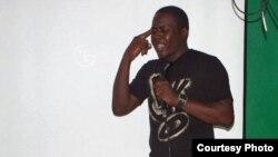Rapper angolano Hebo Imoxi