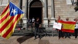 ထုတ္ခံရတဲ့ Catalan အစိုးရအဖဲြ႔၀င္ေတြကို ပုန္ကန္မႈနဲ႔ အေရးယူမည္
