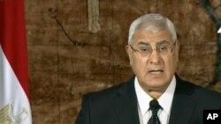 Adly Mansour a chargé 10 juges et professeurs de droit de proposer des amendements constitutionnels dans le cadre du calendrier pour le retour à un régime démocratique