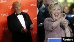 دونالد ترامپ و هیلاری کلینتون بار دیگر بر رقبای هم حزبی شان پیروز شدند.