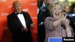 El republicano Donald Trump y la demócrata Hillary Clinton aparecen como favoritos para elecciones primarias en Indiana.