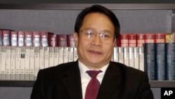 刘晓波的辩护律师莫少平(资料照片)