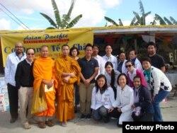 Cơ quan Y tế Á Châu tổ chức khám bệnh tại một ngôi đền Campuchia