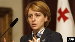 Госминстр Грузии по вопросам реинтеграции Эка Ткешелашвили