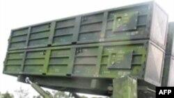 台湾天弓一型导弹机动发射架(资料照片)