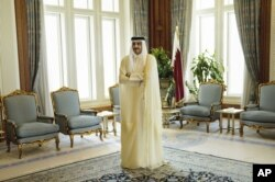 Qatar Emir Sheik Tamim bin Hamad Al-Thani in 2015.