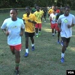 'Fugees Family' memiliki empat tim sepakbola dengan 86 anak laki-laki di Clarkston, negara bagian Georgia.