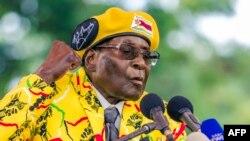 L'ancien président du Zimbabwe Robert Mugabe, le 08 novembre 2017