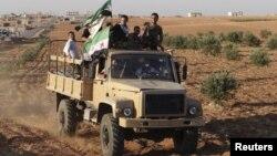 شام کے باغی فوجی(فائل)