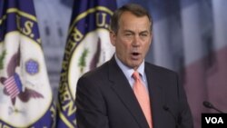Ketua DPR AS, John Boehner