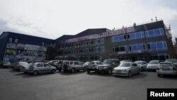 """""""რუსთავი 2""""-ის შენობა. როიტერის ფოტო"""