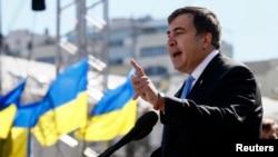 Михаил Саакашвили. Киев, Украина. 29 мая 2014 г.