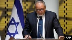 Le ministre israélien de la Défense Avigdor Lieberman à Jérusalem, le 30 avril 2017.