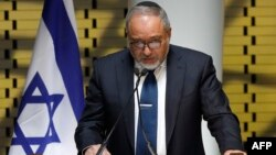 Menteri Pertahanan Israel, Avigdor Lieberman