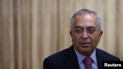 Tư liệu- Cựu Thủ tướng Palestine Salam Fayyad.