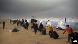 利比亚人缺乏基本生活用品