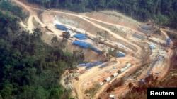 Dự án thủy điện Kamchay ở tỉnh Kamport cách 146 km về phía tây của thủ đô Phnom Penh, Campuchia.