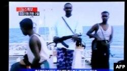 Malezya Donanması Yedi Korsanı Tutukladı