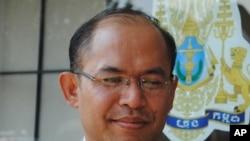 Sok Savoeun, the newly appointed consular.