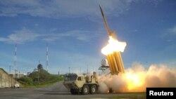 ဒံုးခြင္းဒံုးစနစ္ Terminal High Altitude Area Defense (THAAD)