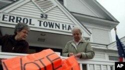 미 공화당 대통령 선거 후보를 뽑기위한 예비선거가 시작된 뉴햄프셔