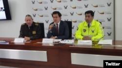 La policía ecuatoriana informó que en lo que va de 2016 se han incautado poco más de 90 toneladas de cocaína.