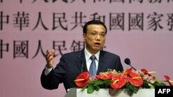 Primer ministro chino, Li Keqiang. El Gobierno se propuso acelerar la creación de empleo, unos once millones al año, para garantizar la estabilidad económica.
