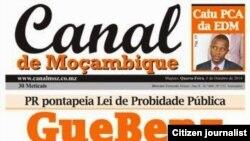 Matias Guente é editor executivo do Canal de Moçambique