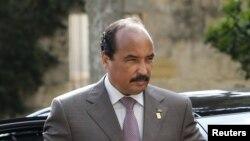 Presiden Mauritania, Mohamed Ould Abdel Aziz (Foto: dok). Presiden Abdul Aziz sedang menjalani perawatan di sebuah rumah sakit militer akibat tertembak saat dalam perjalanan dekat ibukota Nuakchott, Sabtu (13/10).